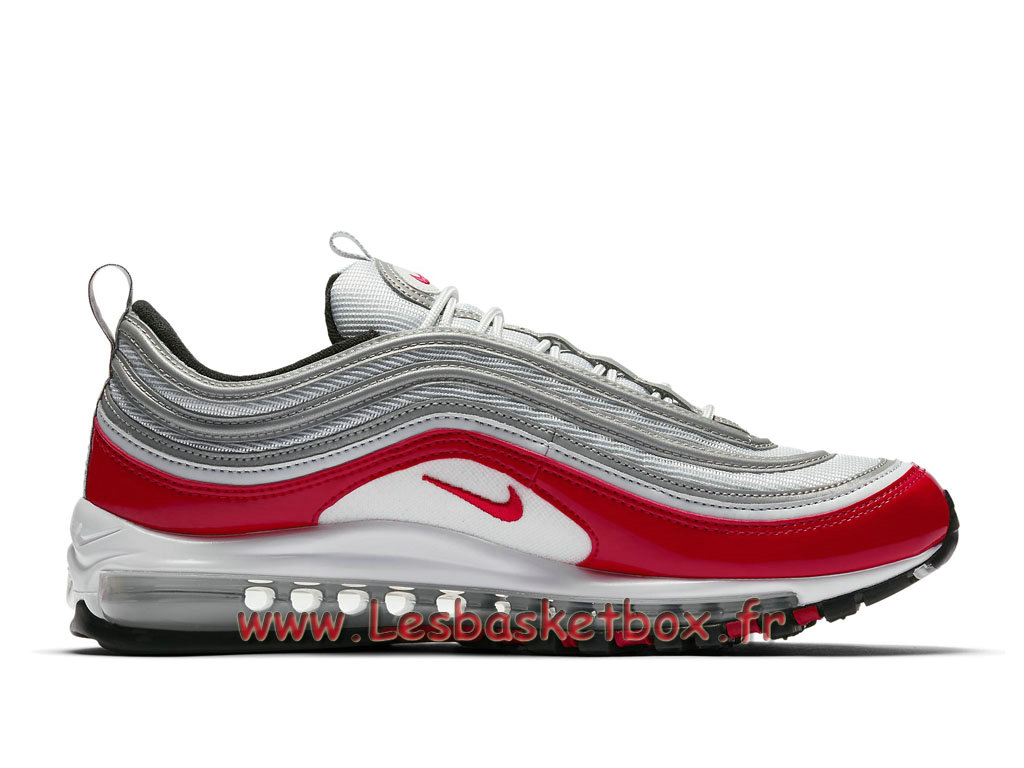 Running Nike Air Max 97 AM1 OG Inspired 921826_009 Chaussures Nike officiel 2018 Pour Homme GrisRouge 1803271462 Officiel Nike Basket Pour Homme